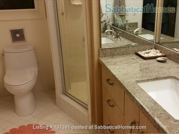 Serene 3-bedroom hilltop home with expansive mountain views. Home Rental in Santa Barbara, California, United States 8