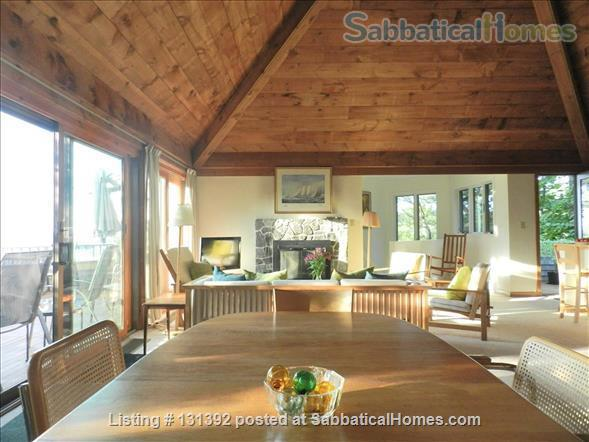 Truly stunning house on seaside estate; 1-hr drive to Cambridge / Boston; fully furnished. Gorgeous ocean views; private beaches & wild land to roam. Home Rental in Gloucester, Massachusetts, United States 0