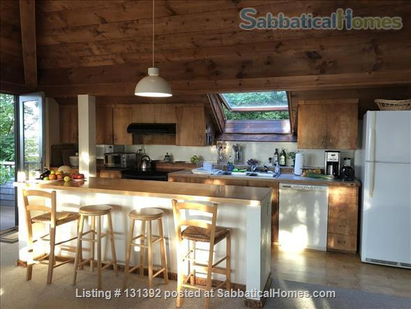Truly stunning house on seaside estate; 1-hr drive to Cambridge / Boston; fully furnished. Gorgeous ocean views; private beaches & wild land to roam. Home Rental in Gloucester, Massachusetts, United States 4