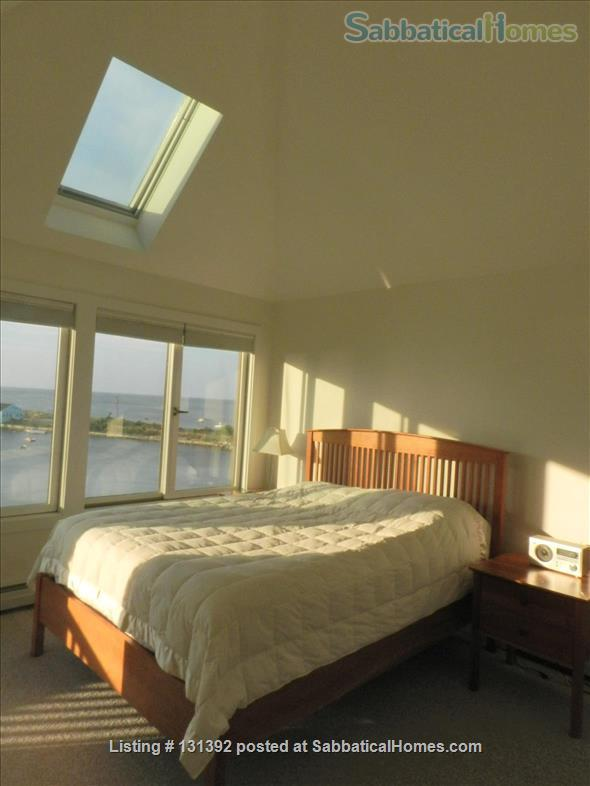Truly stunning house on seaside estate; 1-hr drive to Cambridge / Boston; fully furnished. Gorgeous ocean views; private beaches & wild land to roam. Home Rental in Gloucester, Massachusetts, United States 5