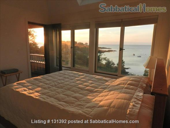 Truly stunning house on seaside estate; 1-hr drive to Cambridge / Boston; fully furnished. Gorgeous ocean views; private beaches & wild land to roam. Home Rental in Gloucester, Massachusetts, United States 6