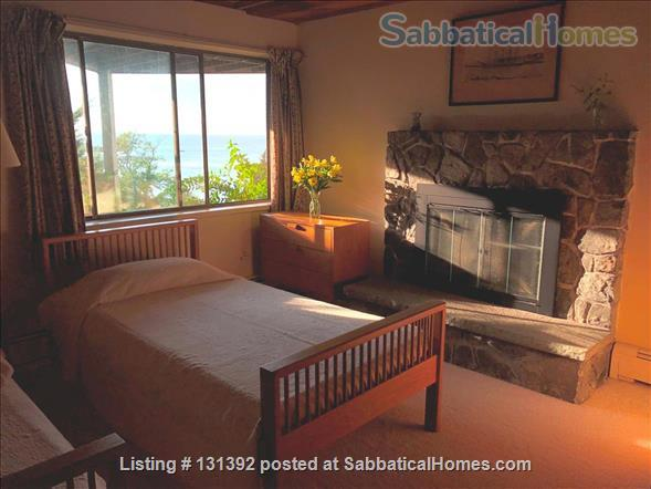 Truly stunning house on seaside estate; 1-hr drive to Cambridge / Boston; fully furnished. Gorgeous ocean views; private beaches & wild land to roam. Home Rental in Gloucester, Massachusetts, United States 8