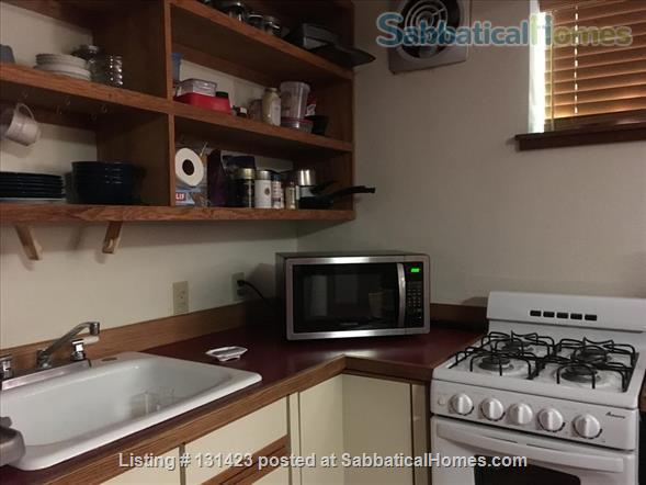 Quiet, spacious studio with full kitchen nestled in beautiful garden  Home Rental in Berkeley, California, United States 4
