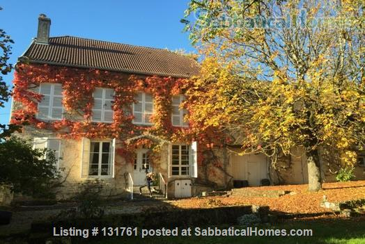 Beautiful writing retreat in rural France Home Rental in Vaudrémont, Grand Est, France 0