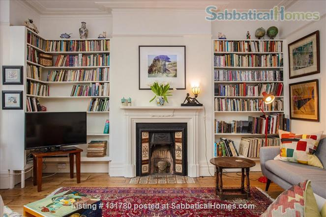 Spacious 2 bedroom flat with pretty private  garden near central London Home Rental in Greater London, England, United Kingdom 1