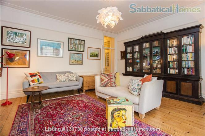 Spacious 2 bedroom flat with pretty private  garden near central London Home Rental in Greater London, England, United Kingdom 0