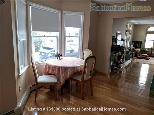 Furnished Bedroom w/Adjacent Bath in Gorgeous Art Deco House Near Tufts Home Rental in Medford, Massachusetts, United States 5