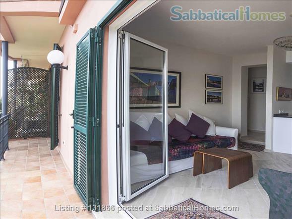 Luxurious apartment with breathtaking views of Italian Riviera 2km fr Menton Home Rental in Latte, Liguria, Italy 1