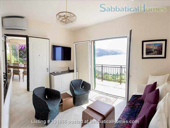 Luxurious apartment with breathtaking views of Italian Riviera 2km fr Menton Home Rental in Latte, Liguria, Italy 0