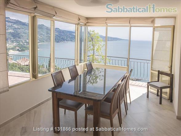 Luxurious apartment with breathtaking views of Italian Riviera 2km fr Menton Home Rental in Latte, Liguria, Italy 6