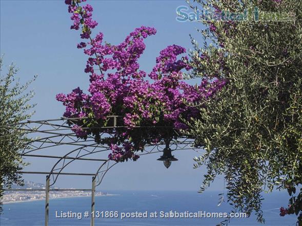Luxurious apartment with breathtaking views of Italian Riviera 2km fr Menton Home Rental in Latte, Liguria, Italy 7