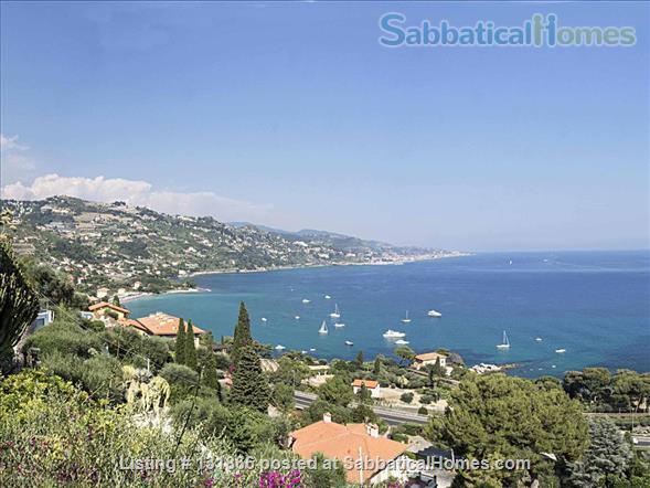 Luxurious apartment with breathtaking views of Italian Riviera 2km fr Menton Home Rental in Latte, Liguria, Italy 8