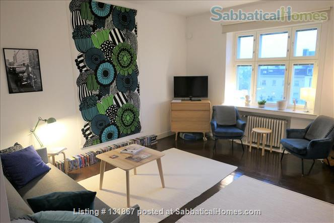 Beautiful, spacious top floor apartment with bay view in central Helsinki Home Rental in Helsinki, , Finland 0