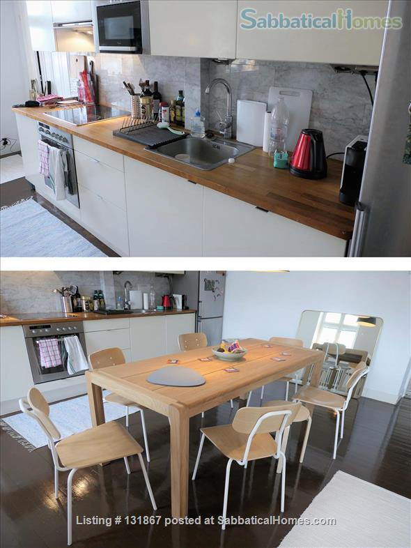 Beautiful, spacious top floor apartment with bay view in central Helsinki Home Rental in Helsinki, , Finland 3