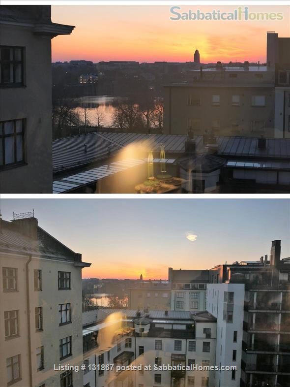 Beautiful, spacious top floor apartment with bay view in central Helsinki Home Rental in Helsinki, , Finland 6