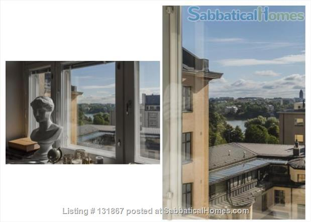 Beautiful, spacious top floor apartment with bay view in central Helsinki Home Rental in Helsinki, , Finland 7