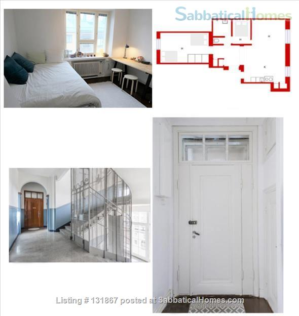 Beautiful, spacious top floor apartment with bay view in central Helsinki Home Rental in Helsinki, , Finland 8