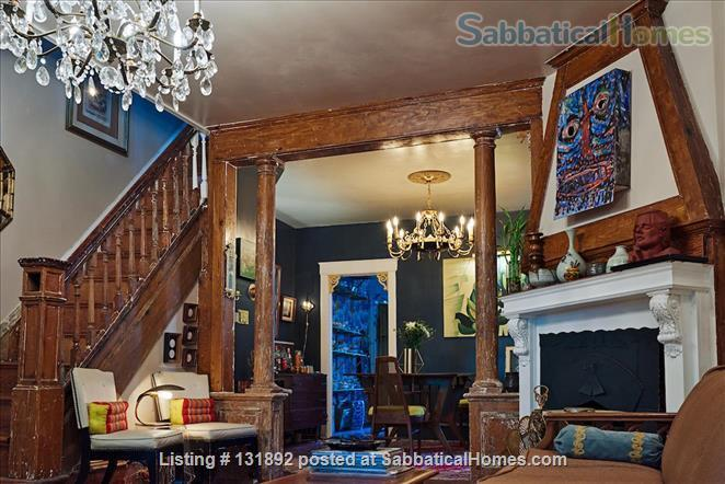 Charming West Philly Row Home with Back Yard Home Rental in Philadelphia, Pennsylvania, United States 1