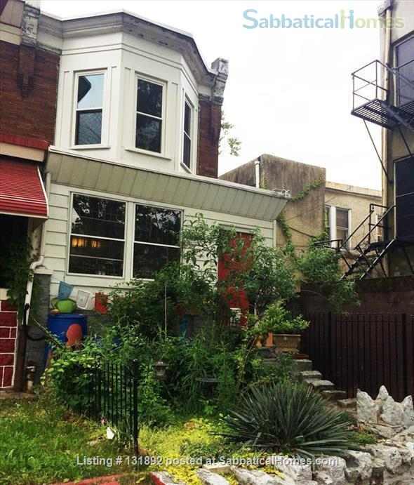 Charming West Philly Row Home with Back Yard Home Rental in Philadelphia, Pennsylvania, United States 0