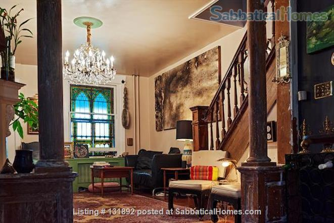 Charming West Philly Row Home with Back Yard Home Rental in Philadelphia, Pennsylvania, United States 2