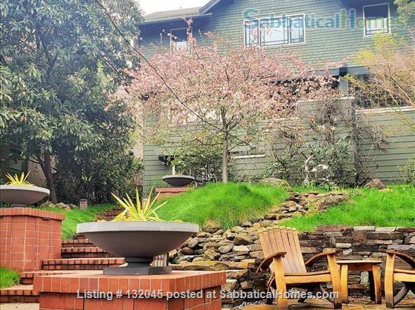 Gracious 4-bed Berkeley Craftsman furnished - UC Berkeley, College Av, BART Home Rental in Berkeley, California, United States 2
