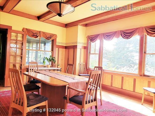 Gracious 4-bed Berkeley Craftsman furnished - UC Berkeley, College Av, BART Home Rental in Berkeley, California, United States 5