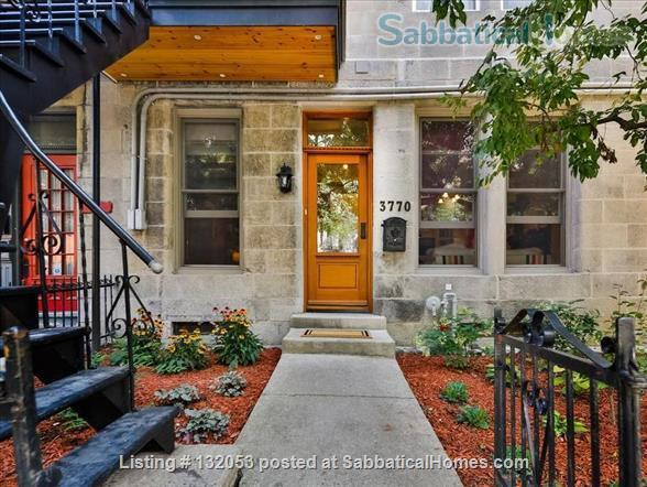 Stunning 3-Bedroom Apt on Most Beautiful Street in Montreal's Plateau Home Rental in Montréal, Québec, Canada 0