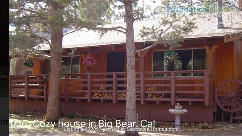 2+1 Mountain Retreat in Big Bear, California Home Rental in Big Bear, California, United States 0