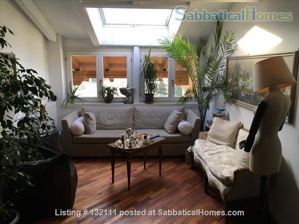 Charming, large 3 bedrooms top floor flat in Rovereto's historical center Home Rental in Rovereto, Trentino-Alto Adige, Italy 1