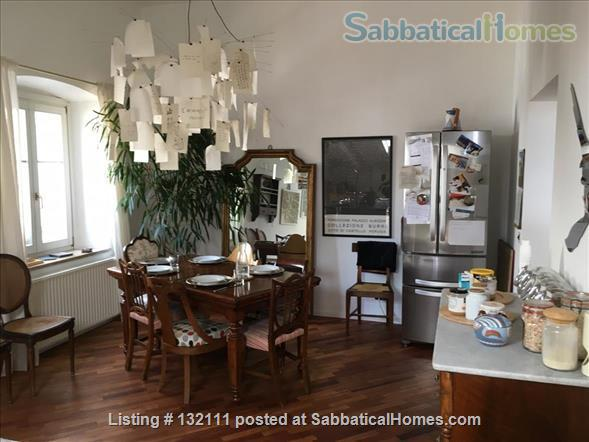 Charming, large 3 bedrooms top floor flat in Rovereto's historical center Home Rental in Rovereto, Trentino-Alto Adige, Italy 2
