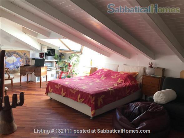 Charming, large 3 bedrooms top floor flat in Rovereto's historical center Home Rental in Rovereto, Trentino-Alto Adige, Italy 3