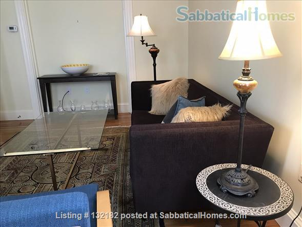 Spacious 2-bedroom home on a quiet side street, 5 minutes to subway, musicians welcome, LBGTQ friendly Home Rental in Boston, Massachusetts, United States 3