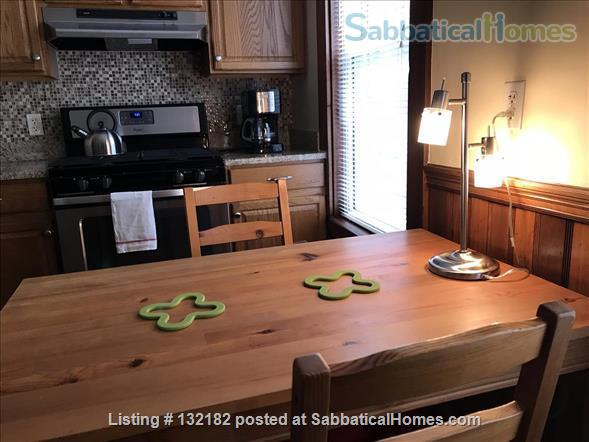 Spacious 2-bedroom home on a quiet side street, 5 minutes to subway, musicians welcome, LBGTQ friendly Home Rental in Boston, Massachusetts, United States 4