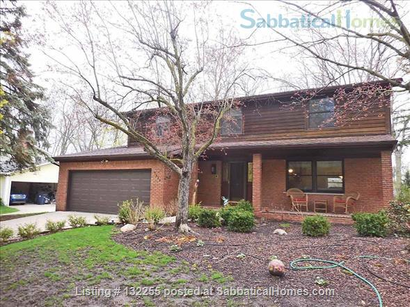 Beautiful 5 bedroom home in Ann Arbor, MI Home Rental in Ann Arbor, Michigan, United States 1