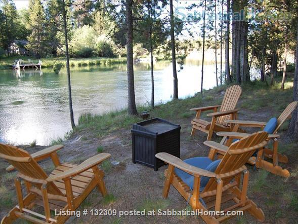 Riverfront 3BR Home South of Sunriver, Oregon Home Rental in Bend, Oregon, United States 7