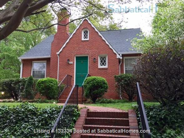 Charming 2 BR with parking included Home Rental in Raleigh, North Carolina, United States 1
