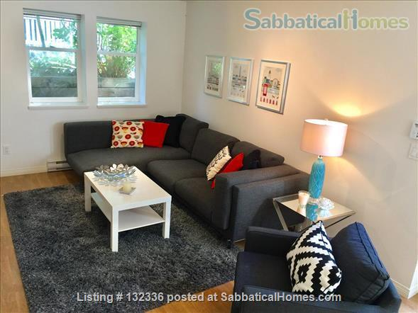 Bright Furnished  2 Bedroom Suite  for Rent at Hillcrest Park Home Rental in Vancouver, British Columbia, Canada 3