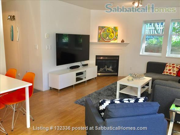 Bright Furnished  2 Bedroom Suite  for Rent at Hillcrest Park Home Rental in Vancouver, British Columbia, Canada 0