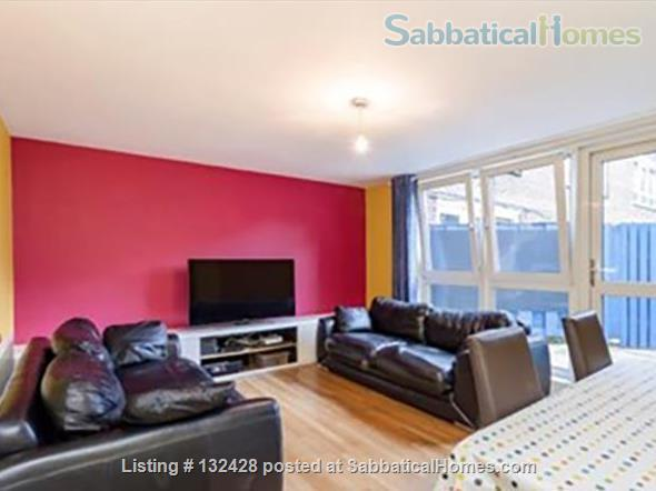 Spacious 2-bed flat with patio near University College London (Camden/King's X) Home Rental in Kings Cross, England, United Kingdom 1