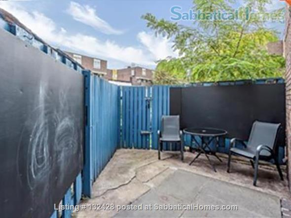 Spacious 2-bed flat with patio near University College London (Camden/King's X) Home Rental in Kings Cross, England, United Kingdom 0