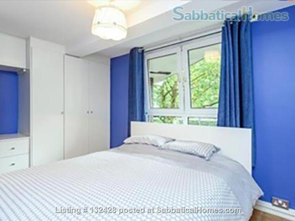 Spacious 2-bed flat with patio near University College London (Camden/King's X) Home Rental in Kings Cross, England, United Kingdom 4
