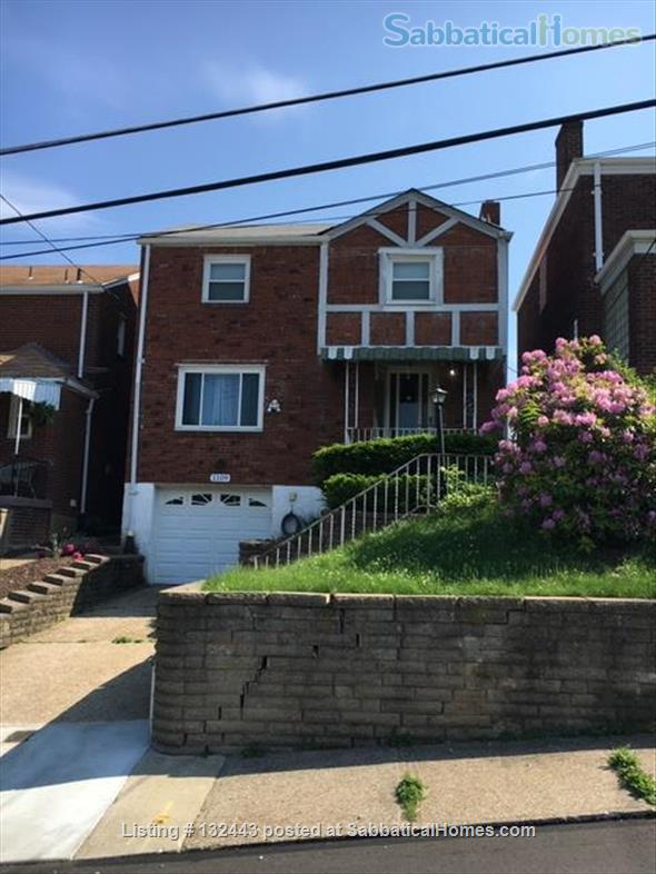 Furnished 3 bedroom home including studio with harpsichord Home Exchange in Pittsburgh 0