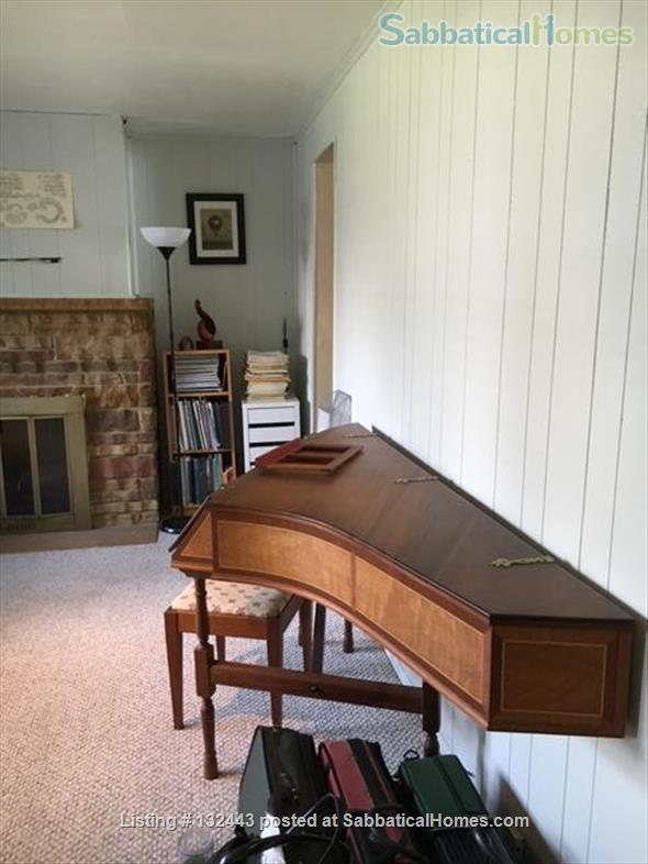 Furnished 3 bedroom home including studio with harpsichord Home Exchange in Pittsburgh 1