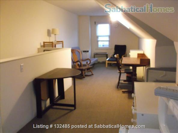 One-person furnished pied-à-terre, walk to Haverford & Bryn Mawr Colleges Home Rental in Ardmore, Pennsylvania, United States 2