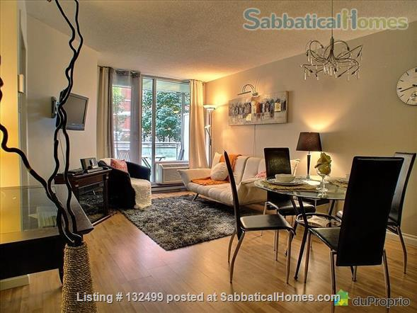 DOWNTOWN MONTREAL 3 ½ FURNISHED & SERVICES ALL INCLUDED Home Rental in Montreal, Quebec, Canada 1