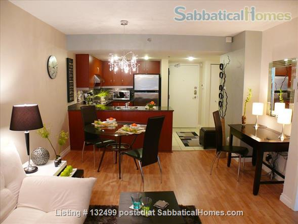 DOWNTOWN MONTREAL 3 ½ FURNISHED & SERVICES ALL INCLUDED Home Rental in Montreal, Quebec, Canada 0