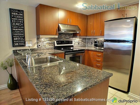 DOWNTOWN MONTREAL 3 ½ FURNISHED & SERVICES ALL INCLUDED Home Rental in Montreal, Quebec, Canada 4