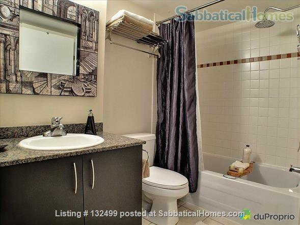 DOWNTOWN MONTREAL 3 ½ FURNISHED & SERVICES ALL INCLUDED Home Rental in Montreal, Quebec, Canada 6