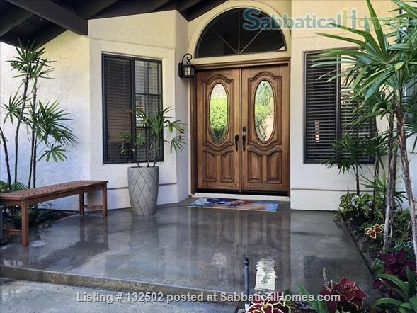 Beautiful Furnished Home near UCSD, includes utilities and gardener Home Rental in San Diego, California, United States 0