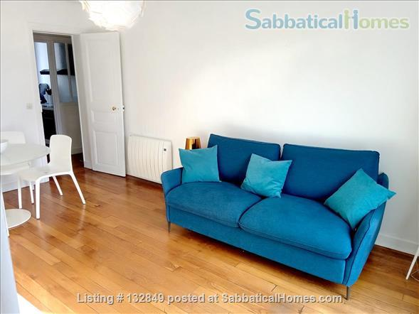 Bright sunny 1 bed apartment with balcony in the 11th Home Rental in Paris, Île-de-France, France 1